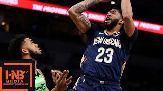 Timberwolves vs Pelicans Full Game Highlights | 01/12/2019 NBA Season