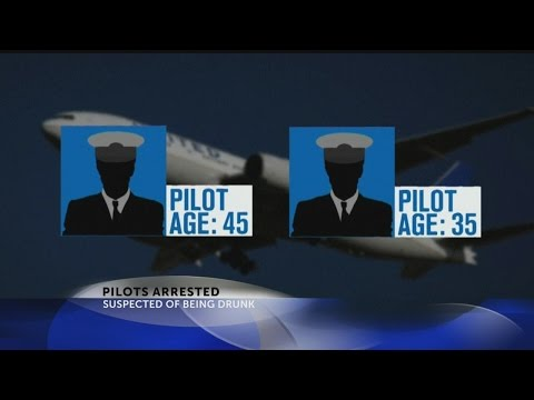 United Airlines pilots arrested