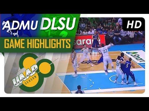 DLSU vs ADMU | Game Highlights | UAAP 80 Men's Basketball | November 12, 2017