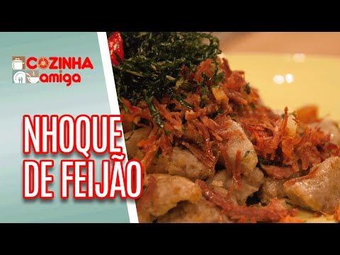 Nhoque e Croquete de Feijão - Raquel Novais | Cozinha Amiga (18/06/18)