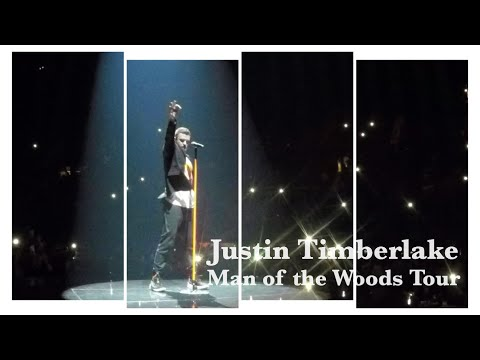 Justin Timberlake Man Of The Woods Concert - The VIP Experience