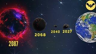 Alerta Mundial! 5 Asteroides Rumbo a la tierra y su fecha de colisión.
