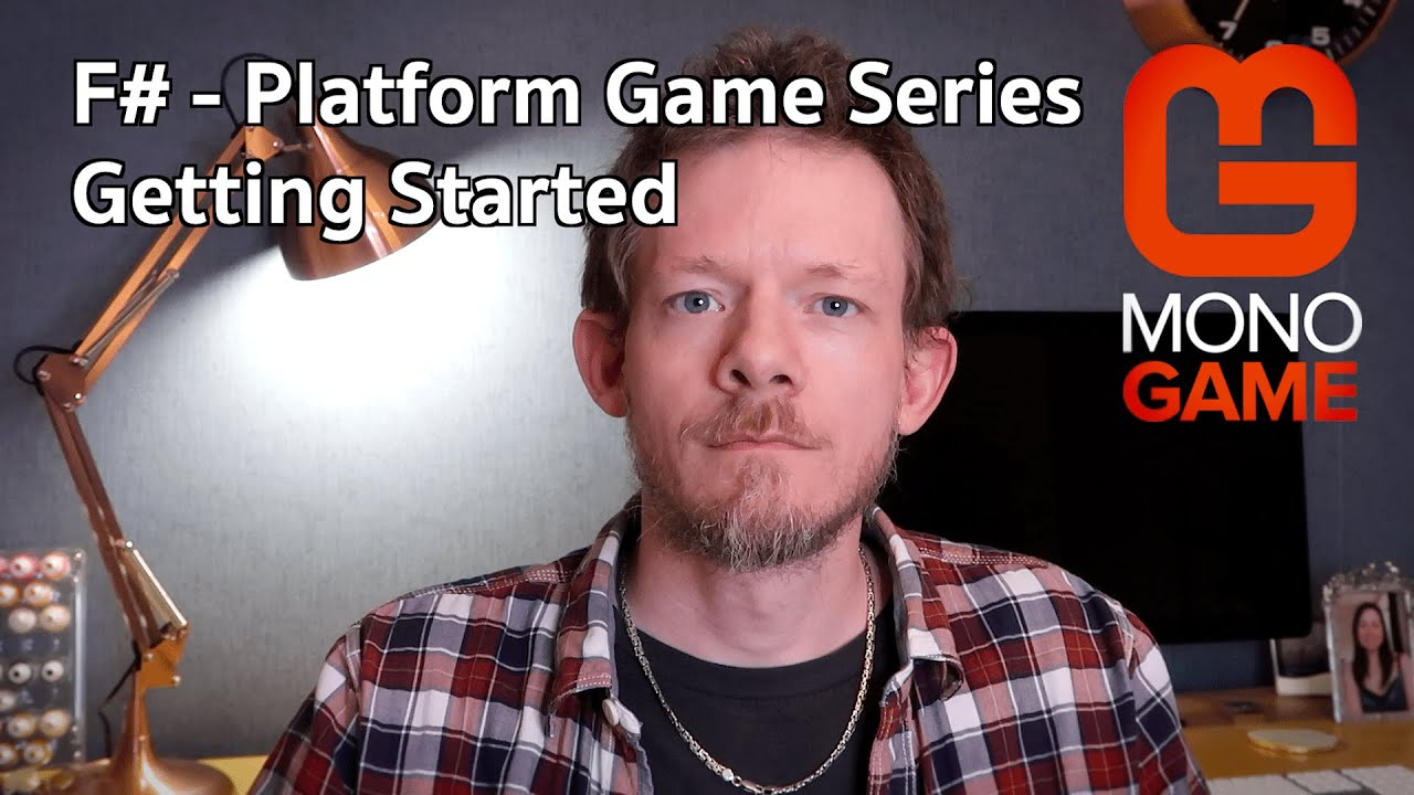 #fsharp #monogame F# Platform Game Series:- Getting Started with F# And  MonoGame