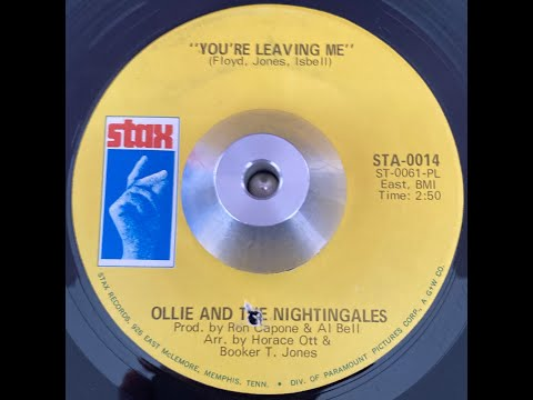 Ollie and the Nightingales   You're Leaving Me