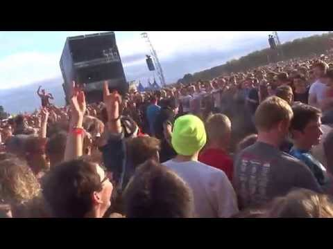 Imagine Dragons - Song 2 -  live Leeds Festival 2014 - HD