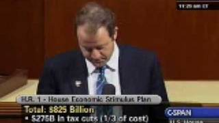 1-28-2009 Economic Recovery and Reinvestment Act Floor Speech