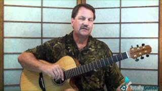 The Wind  - Guitar Lesson Preview - Cat Stevens