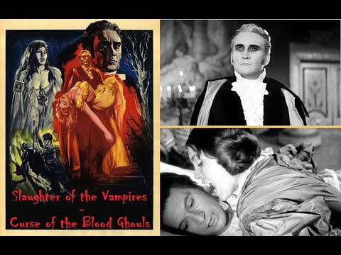 Slaughter of the Vampires Curse of the Blood Ghouls 1962 Italian Horror Full Movie in HD