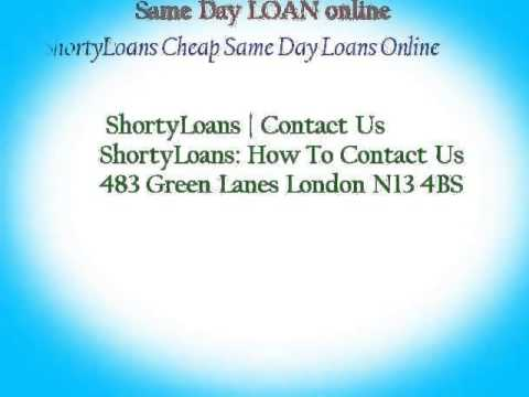 Cheap Same Day LOANS best