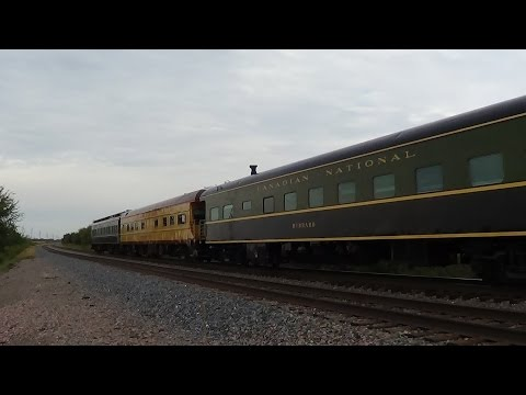 California Zephyr with Three Private Cars