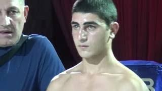 Arnold KHEGAI (UKR/RUS)   VS  Nugzar CHAVCHAVADZE (GEO)