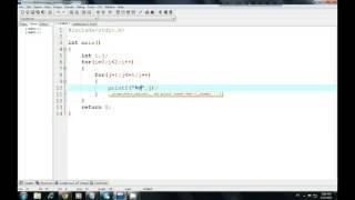 C programming Bangla Tutorial  (Nested for loop-1)