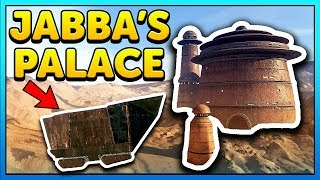 JABBA'S PALACE Secrets EXPLORED - Star Wars Battlefront 2 Out of Map
