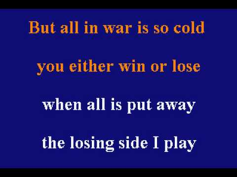 Barbra Streisand - All Is Fair In Love - Karaoke