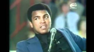 Rare Muhammad Ali interview in Newcastle, UK