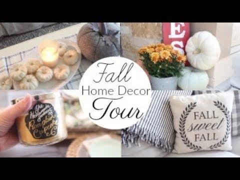 Fall Home Decor Tour 2017   Fall Decor Ideas, Farmhouse Fall