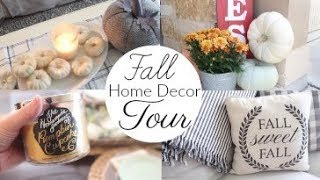 Fall Home Decor Tour 2017 | Fall Decor Ideas, Farmhouse Fall