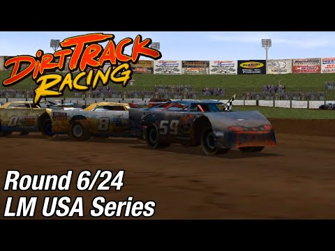 Dirt Track Racing (PC) - LM USA Series @ Boyd Raceway [Rd 6/24]