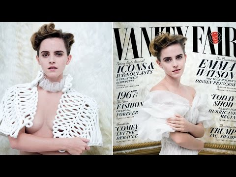 Thumbnail: Emma Watson Fans ANGRY Over Topless Vanity Fair Photos