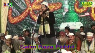 Salim Raza Pilibhit   Naat Shareef Part 2 2017 Naatiya Mushaira Jais Shareef HD India