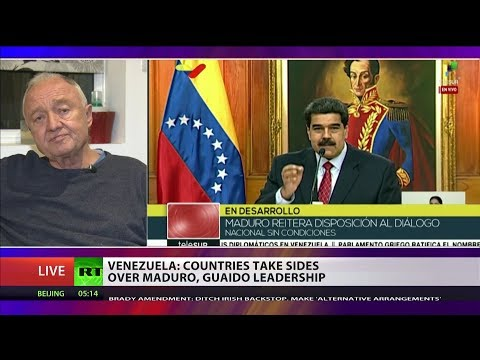 "Ken Livingstone: ""US sanctions against Venezuela are illegal in intl law"""