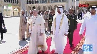 Pielgrzymka papieża Franciszka do ZEA: Ceremonia pożegnania