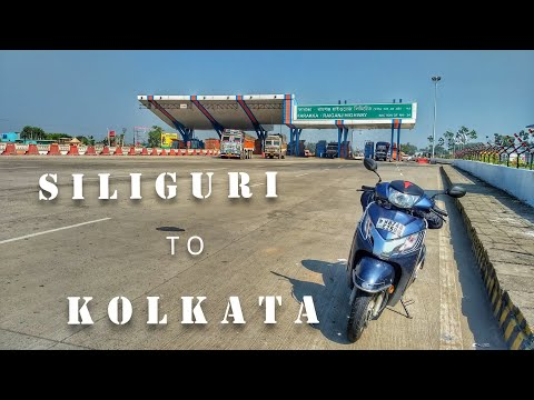 SILIGURI TO KOLKATA : An Epic Journey Of 600 Kilometers On Activa 125