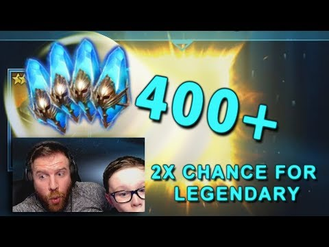 Raid Shadow Legends - 400+ Shards Opened