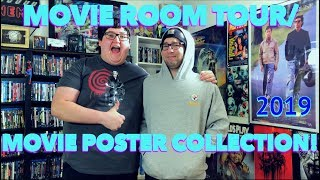 MOVIE ROOM TOUR/MOVIE POSTER COLLECTION 2019!