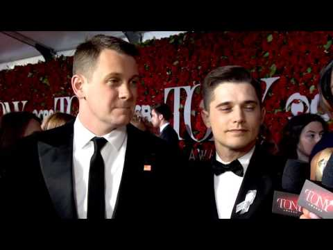 Red Carpet: Michael Arden & Andy Mientus 2016