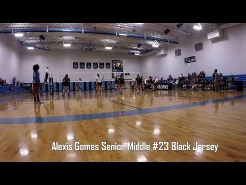 Alexis Gomes AZ Volleyball Highlights Veritas & Phoenix Christian
