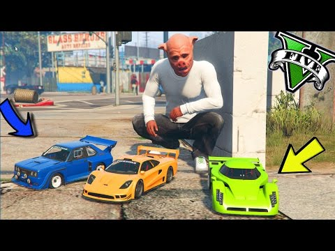 GTA 5 RC CAR MOD 🐷 LE AUTO PIÙ PICCOLE DI GTA 5 !!!🐷 GTA 5 I