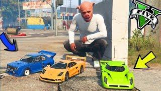 GTA 5 RC CAR MOD ? LE AUTO PIÙ PICCOLE DI GTA 5 !!!? GTA 5 ITA ? DAJEE !!!!
