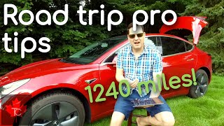 Lessons Learned #Tesla #Model3 2000 KMs (1240 miles) #Car Trip