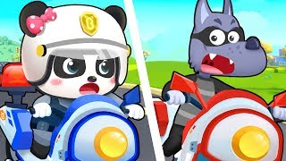 Super Policeman | Doctor Cartoon, Firefighter Song | Nursery Rhymes | Kids Songs | BabyBus