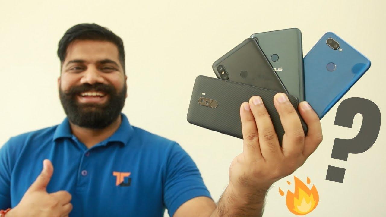 Top 5 Mid-Range Phones of 2018 - TG Picks