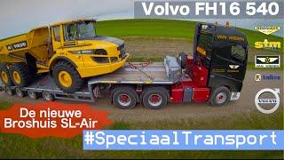 Speciaal Transport [Volvo FH16 540 met Broshuis SL-AIR]