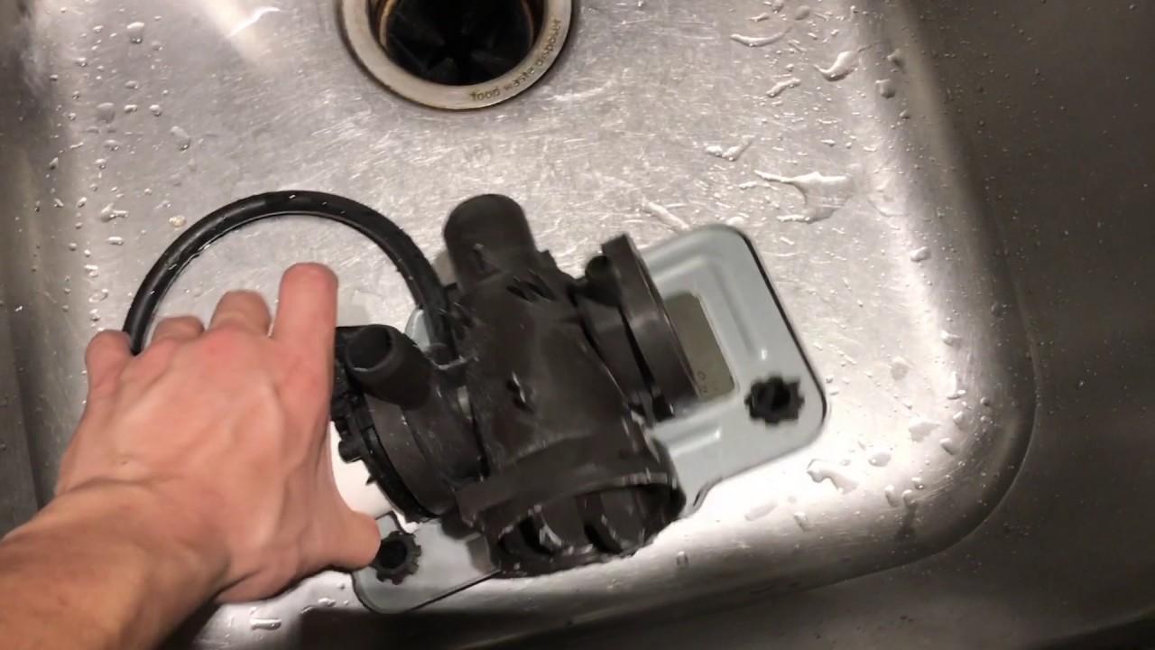 fix lg front load washer drain pump motor oe error code part 4681ea2001d  [ 1280 x 720 Pixel ]