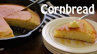 How to Make Cornbread -- Skillet Cornbread -- The Frugal Chef