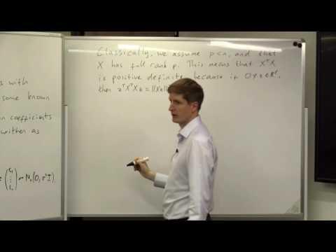 Doctoral Masterclass, Statistical Methodology and Theory : Professor Richard Samworth, Cambridge