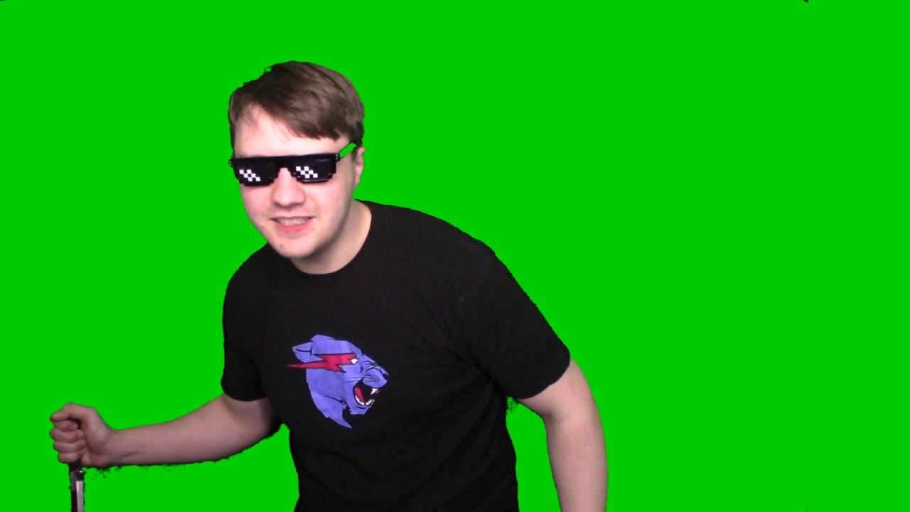Dio V Jotaro Greenscreen Meme Template Youtube