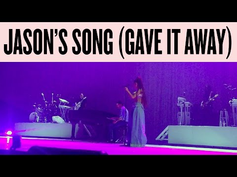 "Ariana Grande - ""Jason's Song (Gave It Away)"" - Dangerous Woman Tour 2017 - Live In New York, NY"