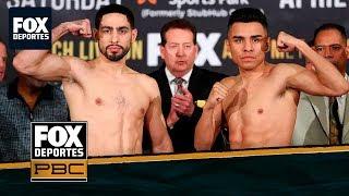 PBC: El pesaje de Danny García vs Adrián Granados