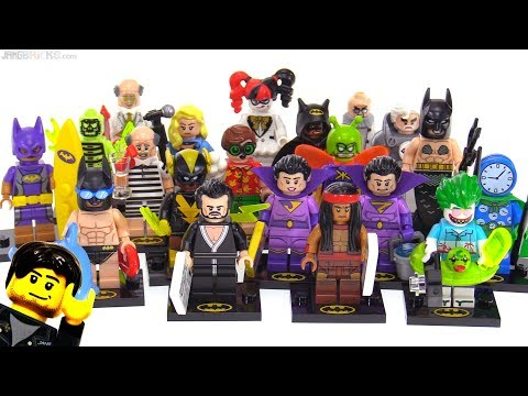 LEGO Batman Movie Series 2 Minifigures full review!