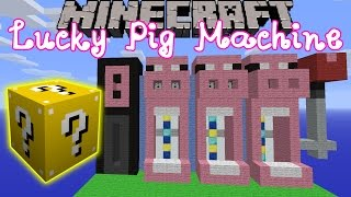 Minecraft: Lucky Block Mod Pig Slot Machine Mini-Game - Modded Mini-Game [2](Thanks for watching! Don't forget to subscribe if you want to see more videos. ♥ Tweet Me!: http://twitter.com/GamingWithJen/ ♥ Instagram: ..., 2014-11-22T21:57:10.000Z)