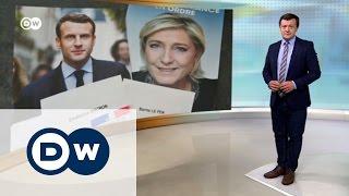 Исторические выборы во Франции   DW Новости (24 04 2017)