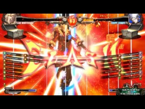 Rnk play sa Guilty Gear Xrd REV 2 |