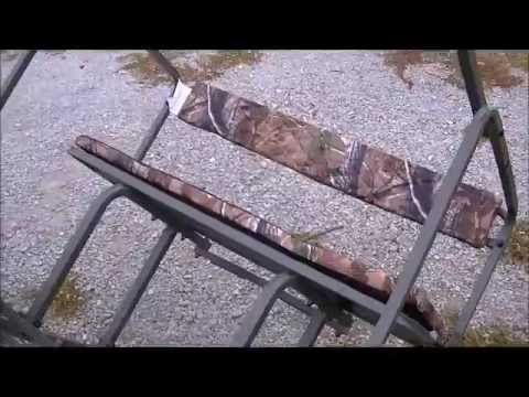 How To Deer Hunting Setting Up A Ladder Stand On Public