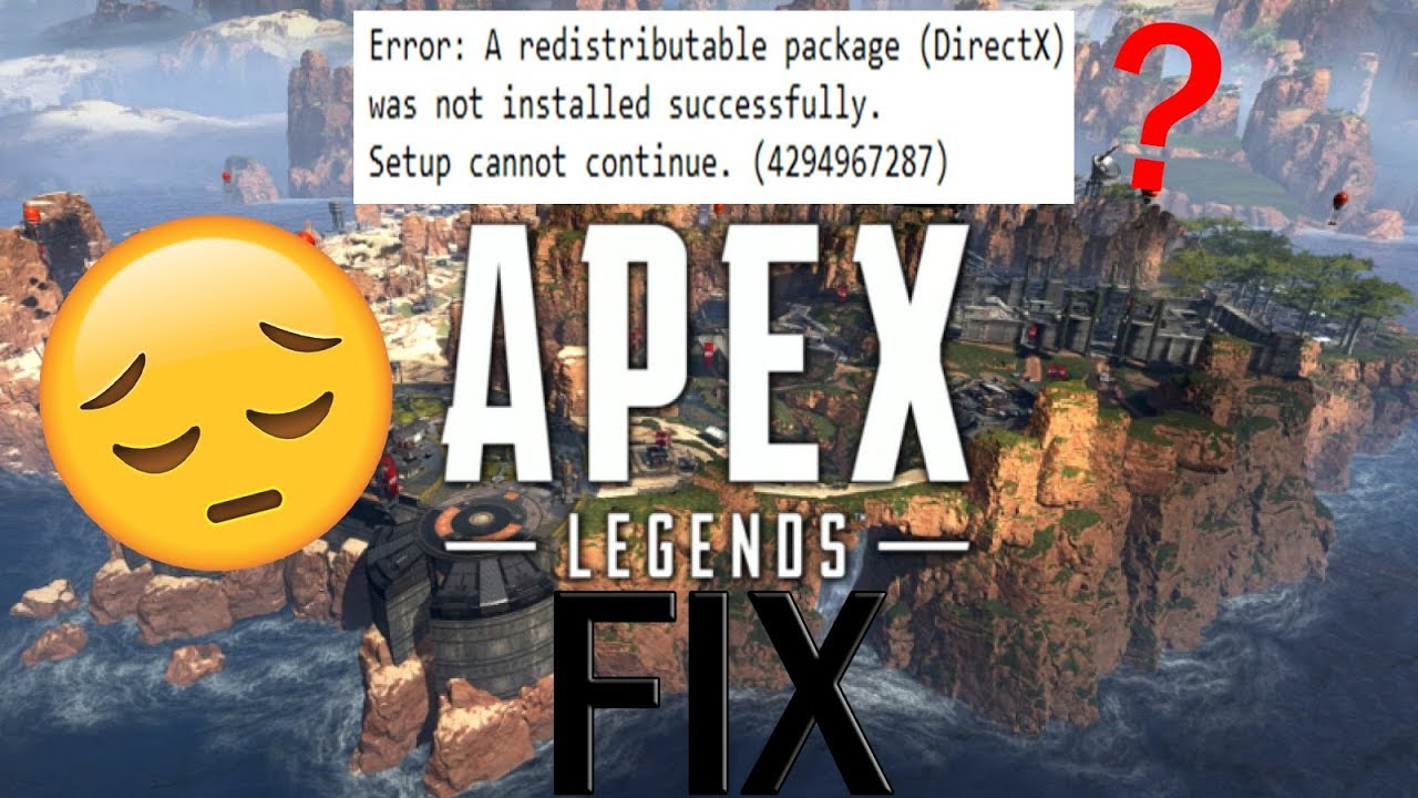 apex download failed