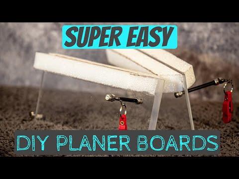 Easy DIY Planer Boards